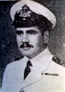 מפקד הדומיאט האמיץ שלא נשמע להוראות הבריטים לעצור.