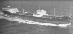 המיכלית NEBO של חברת צים האניה הראשונה שהפליג יעקב הרצוג
