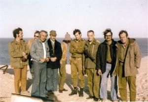 ביקור אמנים במהלך המלחמה