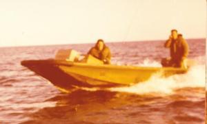 סירה מהירה בשרות בסיס דפנה