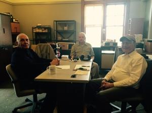מפגש עם היסטוריון אליס איילנד 10 אפריל 2015