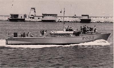 טרפדת ט200 בנמל חיפה