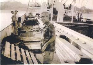 """אל""""מ בוצר קיבל פיקוד על זירת ים סוף לקראת מלחמת ששת הימים ומכין את האניה עמליה"""