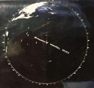 """תמונת המכ""""ם בעת ההצטרפות לשורת אוניות הציים בכניסה לניו יורק"""