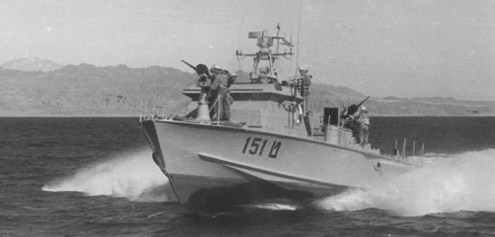 ט-151 אחת מספינות הפלגה הדרומית שהופעלו במפרץ סואץ