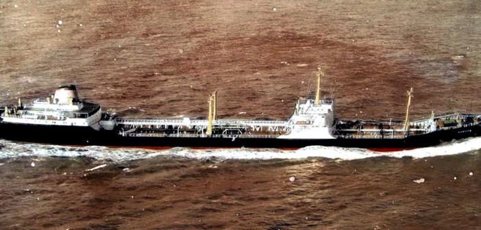 המיכלית M.S.SAMSON של חברת אל-ים אשר הותקפה