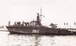טרפדת ט-206 בתקופת מלחמת ההתשה