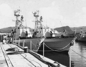 הספינות בבסיס סימונסטאון