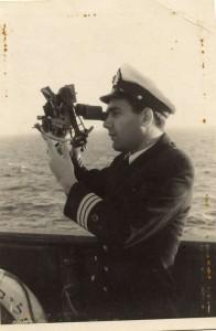 קצין ראשון אברהם אריאל 1957