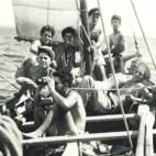 """אימוני הפלגה בים של חבורת הפלי""""ם"""