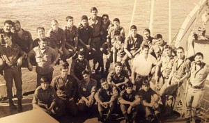 """צוות אח""""י בת גלים2 בשנת 1979"""