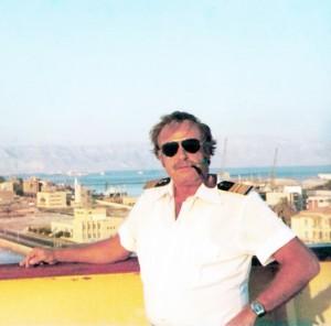 רב חובל גרא לוין, קברניט המצדה בשנת 1980