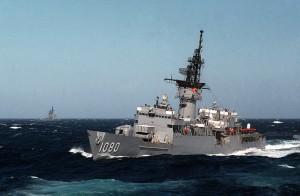 הפריגטה USS Paul 1080