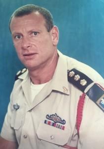 דרור אלוני כמפקד בסיס ההדרכה שנים מספר לאחר הארוע.