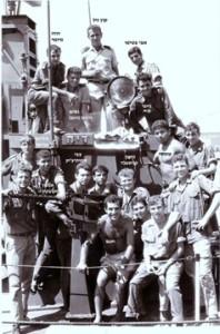 צוות ט-204 למחרת קרב רומני אבי בטיטו למעלה מימין