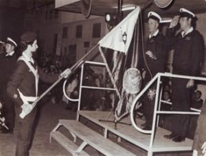 מפקד חיל הים אלוף בני תלם ודה ליחידה 707 על פעילותה בחיבור סרט מלחמת יום הכיפורים לדגל היחידה