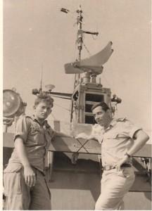 רפי רז ועמי שר אל אחרי קרב רומני 12 ביולי 1967
