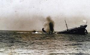 אניית סוחר מוטבעת