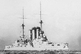 אניית הקרב פרוסיה של הצי הגרמני.