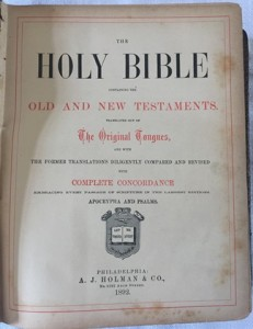"""ספר התנ""""ך- דף פרטי ההוצאה"""