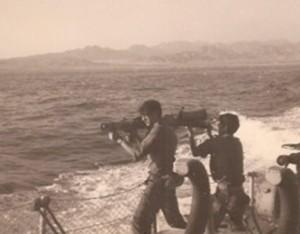 חימוש ספינות הדבור במטול נגד טנקים 'קרגו' נעשה תוך כדי מלחמת יום הכיפורים 1973