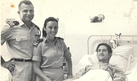המפקד יצחק שושן דן בן אמוץ 1 בנובמבר 1967