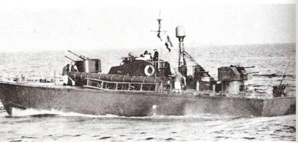 טרפדת p-183 מצרית מהדגם שהושמדו בקרב הרומני יולי 1967