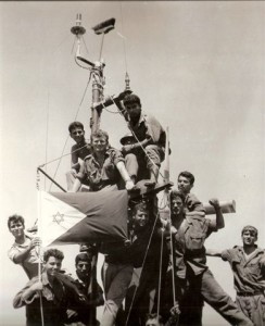מטאטא על התורן מסמן ניצחון ימי