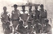 סגל הקצינים של המשחתת אילת בתקופת מלחמת ששת הימים