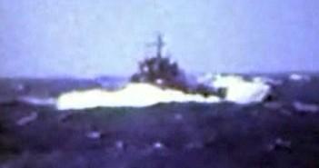 נחתת פ-53 מול הים במפרץ סואץ  18 ביוני 1982.