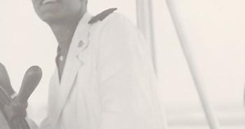 אנריקו לוי קצין ים על ספינת המפרש פטריה 1937