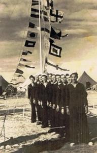 חלק מקורס מפקדי סירות