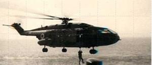 מסוק סופר פרלון שהיה בשימוש טייסת 114.