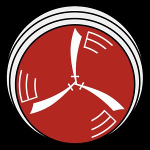 החרב המתהפכת - סמל טייסת 124