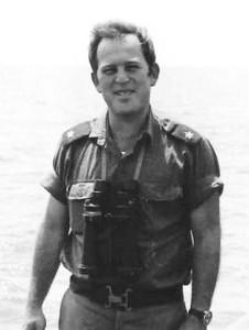 """רס""""ן מיכה רם מפקד אח""""י רשף 1973"""