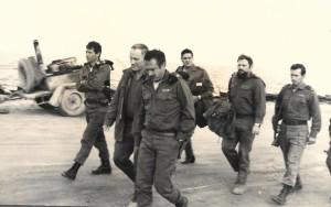 ביקור מפקד חיל הים ביני תלם 31 בדצמבר 1973