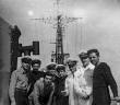"""מחלקת חשמל באח""""י יפו אפריל 1956"""