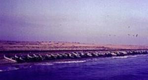 סירות גומי (ישראליות) על חוף סיני  לקראת מנבצע נחתה
