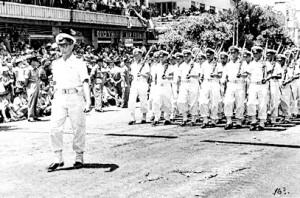 מצעד יום העצמאות 1957 בתל אביב,