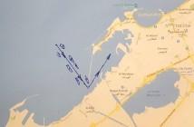 הכניסה המסובכת לנמל אלכסנדריה