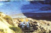 טילי גבריאל מוכנים לנסוי ירי מהחוף 1964