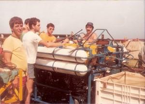 הרובוט התת ימי על סיפון המעוז