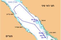 תרשים תנועה לקראת תקיפת המעגן (מקור אתר עמותת חי הים)