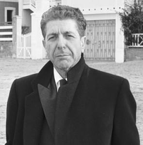 הזמר הקנדי לאונרד כהן תמונה משנת 1988
