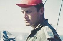 עמי אילון (עדיין סרן) בגשר דבור בתחילת שנת 1973