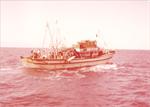 ספינת דיג מצרית במפרץ סואץ בתקופה שלפני מלחמת יום הכיפורים