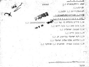 הודעת יציאת הסיריס מנמל אילת  252300 שהופצה למפקדת זירת ים סוף זמן רב לפני הגעת המיכלית לאזור הממוקש.