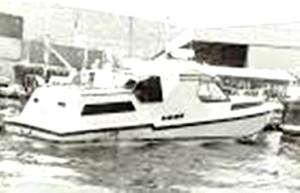 סירת המירוץ של המחבלים 'גנדה'