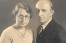 קורט פרץ ואלזה הוריו של יהודה קלאוז 1936
