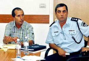 גז ובן ברוך בישיבת הנהלת אגף מצילה 2012
